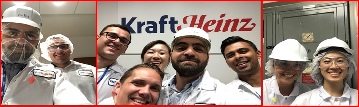 Kraft Heinz University Relations - Canada Zone - Week 2, 2018